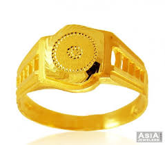 gold ring images for men 22k mens fancy gold ring ajri58179 22k gold men s ring with