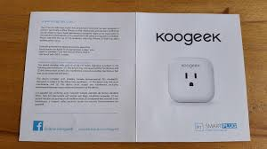 smart plug for apple homekit koogeek com the local wi fi network turning the power on and off occurs reliably and with a specific click in general the gadget is good and it works