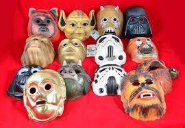 vintage masks quantity of vintage wars masks eight cesar 1978 masks two c