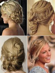 bridesmaid side bun hairstyle popular long hairstyle idea