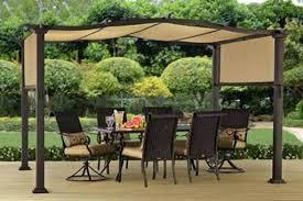 pergola canopy canadian tire retractable plans ideas uk