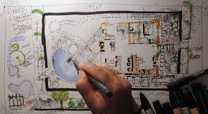 how to sketch landscape design architecture drawing tutorials
