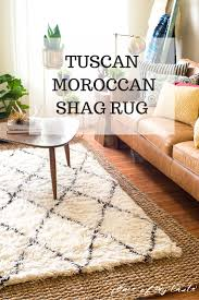 moroccan shag rug tuscan moroccan shag rug in the living room