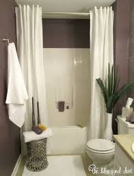 Bathroom Curtain Ideas For Shower Hang A Second Shower Curtain To Make Your Tub Seem Luxurious