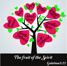 clipart the fruit of the spirit galatians 5 25