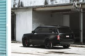 land rover matte ag luxury wheels range rover forged wheels