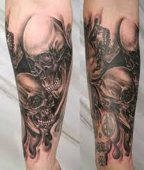 half sleeve skull designs skull sleeves designs and