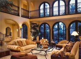 incredible tuscan style living room furniture using glass top on