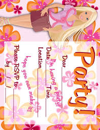 best 25 barbie invitations ideas on pinterest barbie birthday