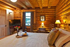 cozy log cabin apt on lookout mountain cabins for rent in