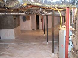 highlands nc wet basement waterproofing crawl space encapsulation