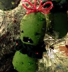 hide the pickle a free felt ornament pattern wonderstrange arts