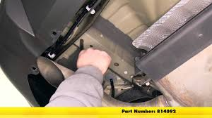 nissan rogue youtube 2014 installation of a trailer hitch on a 2015 nissan rogue etrailer