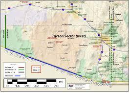 Ajo Arizona Map by American Border Patrol Image