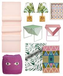 classic decor combos pink and green u2013 design sponge