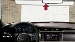 Craftsman Garage Door Openers by Jaguar Xf 2016 2017 Garage Door Opener Homelink Youtube