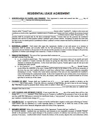 sample lease agreement template free download create edit fill