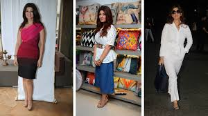 here u0027s twinkle khanna through the years her complete style evolution