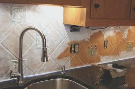 Painting Kitchen Tile Backsplash Backsplash How To Paint Ceramic Tile Backsplash Luxury Home