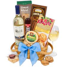 wisconsin cheese gift baskets classic white wine gift basket by gourmetgiftbaskets