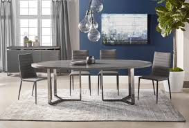 malone oval dining table