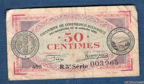 chambre des commerces annecy nécessité 50 centimes chambre de commerce annecy série r3 003965