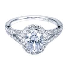 oval engagement ring with halo rings on norman silverman oval halo engagement ring