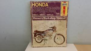 honda cb250 and cb400 superdreams owner u0027s workshop manual haynes