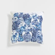 almofada jarras pillows wanna magazine cuscino con vasi zara home