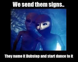 Alien Meme - meme alien message rather rad