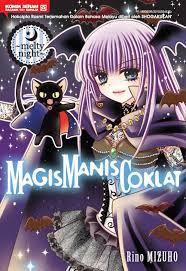 wallpaper coklat manis gempakstarz graphic novel magis manis coklat melty night