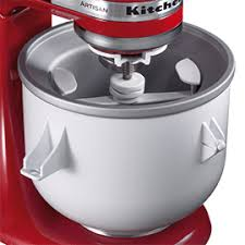 Kitchen Aid Ice Cream Maker Attachment by Kitchenaid Artisan Ice Cream Maker Kitchen Aid Recipes Mixers