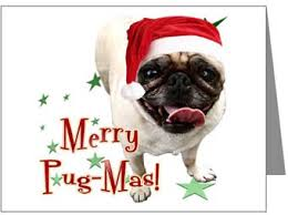 pugs dogbreed gifts pug cards ornaments