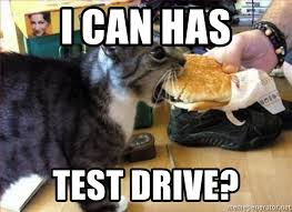 Cheezburger Meme Maker - i can has test drive cat haz cheezburger meme generator