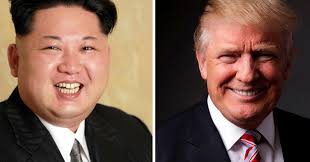 Trump Presidential Makeover by Someone Flipped Trump U0027s Hair With Kim Jong Un U0027s And It U0027s