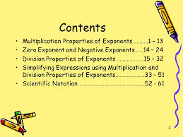 simplifying exponents ppt download