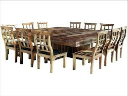 Large Dining Room Table Seats 12 Dining Table Seat 12 Large Square Dining Room Table For Large