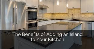 adding a kitchen island the benefits of adding an island to your kitchen home remodeling