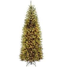 7 5 ft slim led pre lit trees artificial