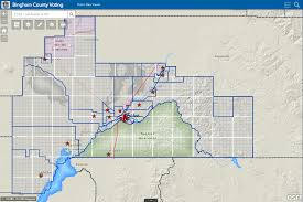 Idaho County Map Gis Mapping