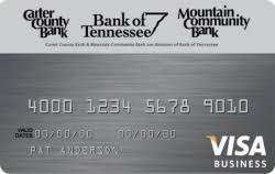 Visa Business Card Visa Business Credit Cards Bank Of Tennessee
