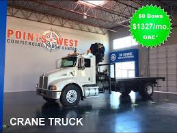 kenworth t300 for sale canada 2007 kenworth t300 with hiab crane points west commercial truck