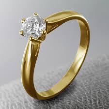 bagues de fian ailles bague de fiançailles en or