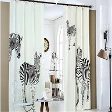 compare prices on curtains zebra for window online shopping buy