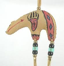 native american hanging ornaments for the christmas tree and other