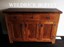 Reclaimed Wood Buffet Table by Reclaimed Wood Buffet With Epoxy Matte Polyurethane Finish By Hd