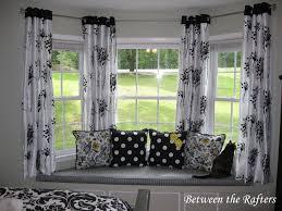 Bay Window Curtains Modern Bay Window Curtains Kitchen For Windows Curtain Ideas