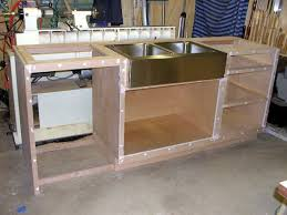Kitchen Cabinet Carcase Assembled 60x34 5x24 In Sink Base Kitchen Cabinet In Unfinished