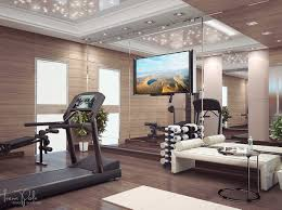 400 Square Foot Apartment by Stylish Home Gym Interior Design Ideas