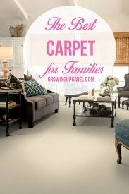 Best Living Room Carpet by The Best Carpet For Families